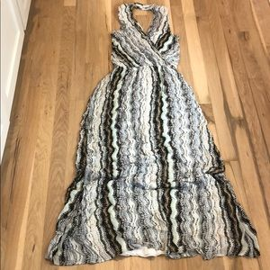 XS Ella moss long dress